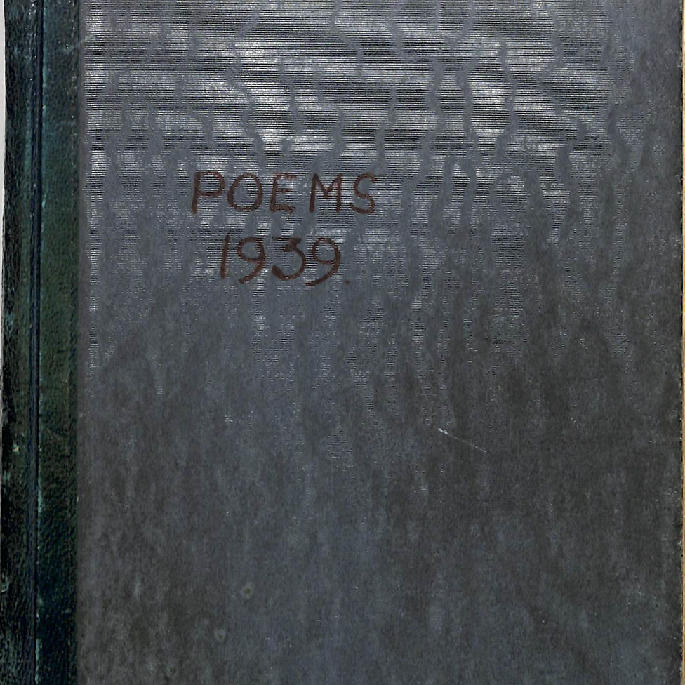 Book 24 Poems April 1939 to March 1940
