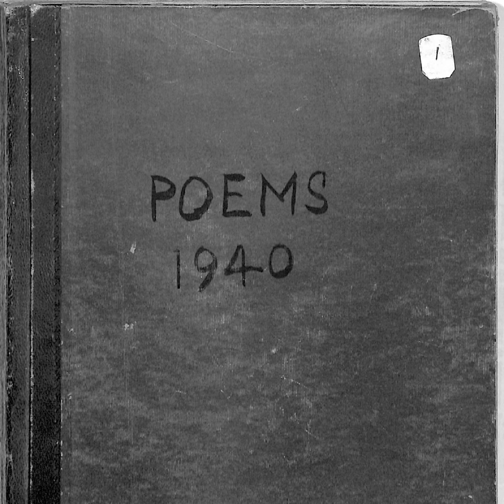 Book 26 Poems October 1940 to December 1941